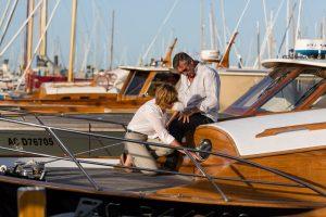 couple sur bateau