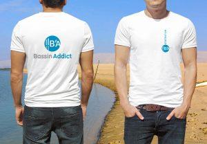 logo Marque Bassin d'Arcachon sur t-shirts