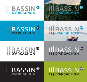 Logo Marque Bassin d'Arcachon déclinaison
