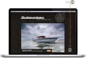 exemple capture écran de DUBOURDIEU