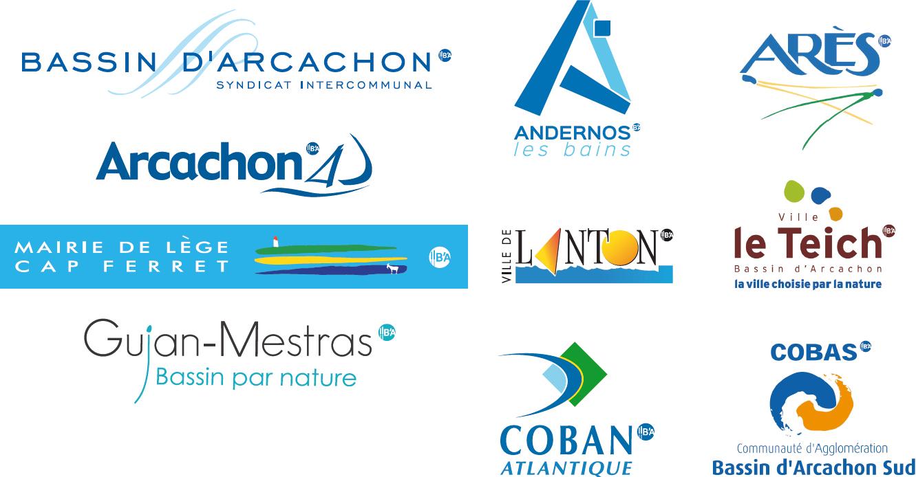 logos liés au bassin d'arcachon