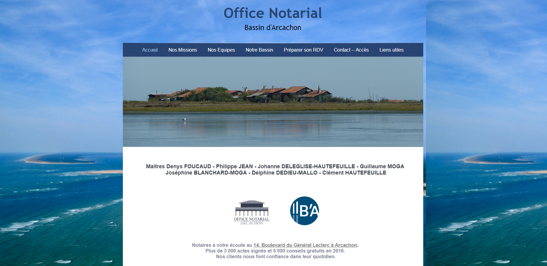 Office Notarial Bassin d'Arcachon